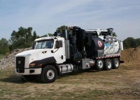Vactor HXX Prodigy CAT chassis